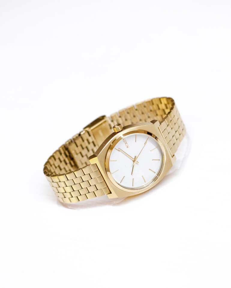 Time Teller Gold / White