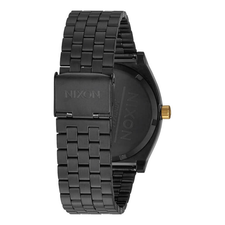 Time Teller Matte Black / Gold