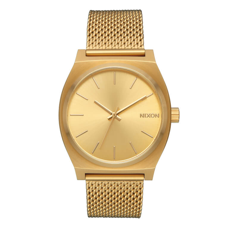 Time Teller Milanese All Gold